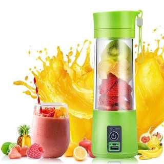 380ml USB Chargeable Juicer Glass Cup