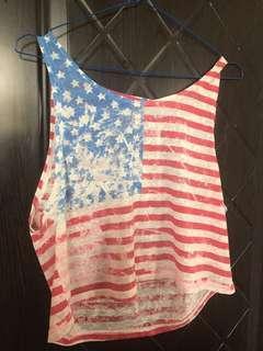 USA flag TOP
