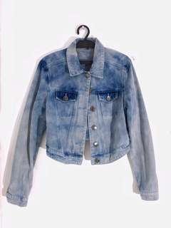 Denim Jacket (Cropped Top style)