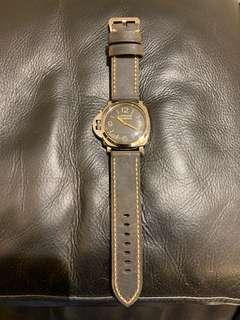 Panerai 422 423 372 沛納海 代用錶帶 復古 黑色 not Rolex omega iwc
