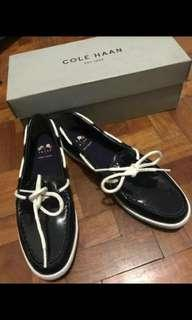 Cole Haan Moccasin Navy Blue size 7