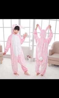 Pink Rabbit Bunny Costume