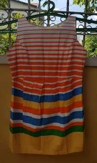 SUMMER Stripes Party Dress