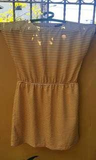 Plussize Stripes Dress