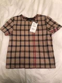 Burberry print t-shirt
