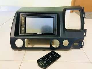 Universal Player/Radio Pioneer AVH-175DVD Double-Din