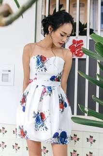 Ohvola: Mae Lantern Mesh Dress (XS)