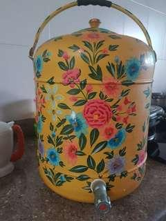 Petanakan Antique Floral Drink Dispenser