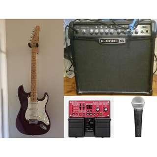 SPIDER IV 30 AMP + Mic + Mic Stand