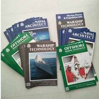 Naval architecture/offshore magazines-RINA Publications