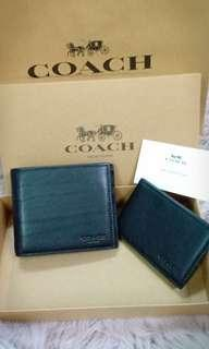 AUTHENTIC COACH WALLET FOR MENS