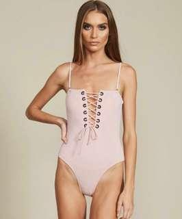 SWM by Lioness Blush/Pink Bodysuit Swimwear