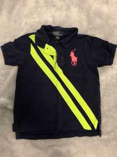 Polo collared T-shirt 24M