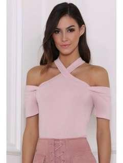 Runaway The Label Pink Top