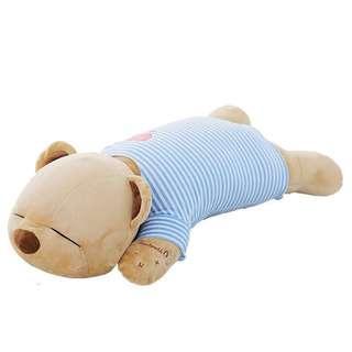 音乐抱枕女生多功能无线蓝牙趴趴熊枕头可爱睡觉毛绒公仔生日礼物