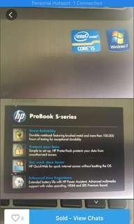 HP LAPTOP PROBOOK 4330S FOR SALE