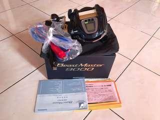 Shimano electric reel , BeastMaster 9000