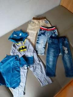 三條褲加一套batman套裝