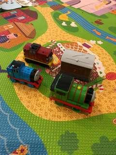 Thomas train-Percy,Toby,Gordon,Salty