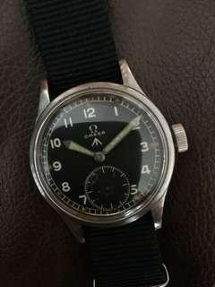 (Christmas Sales!) OMEGA 1940's WWW British Military Issued WW2 Army Vintage Wrist Watch RARE