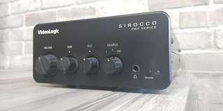 audiologic sirocco pro series audiophile amplifier amp hifi made in england uk