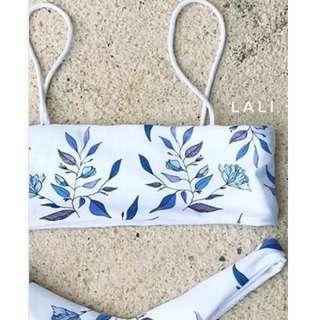 👙 Lali and Layla White Snowbird Bikini Set
