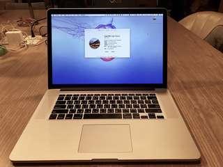 2015 MacBook Pro 15寸