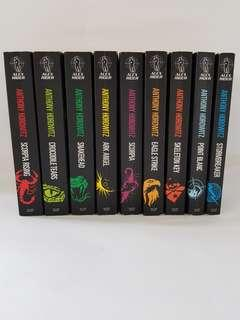 Full Alex Rider series by Anthony Horowitz