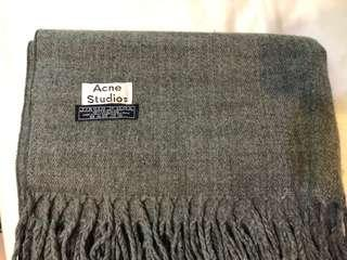 Acne studio 素色圍巾70 x200cm