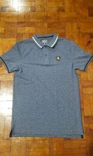 Giordano Mens BSX Polo Shirt Small Size Dark Blue casual