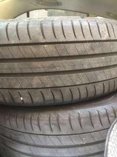 2pcs 205/55/16 Michelin Primacy 3