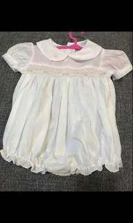 White Baby Onesie