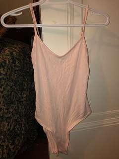 Pink Missguided Bodysuit
