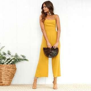 BN Yellow Jumpsuit