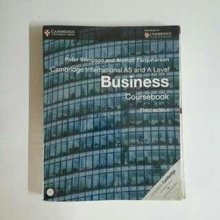 Business A Levels Textbook