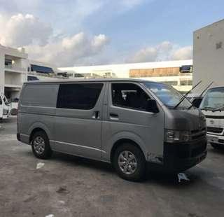 Toyota Hiace Euro 4 & 5 (Lease/Rental of Commercial Vehicle & Private Vehicles)