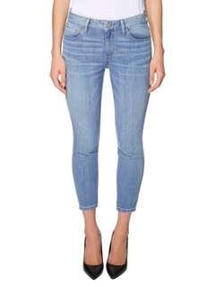 Guess Light Wash Mid-Crop Jeans (Sz. 27)