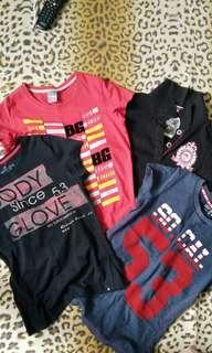 Combo T shirts