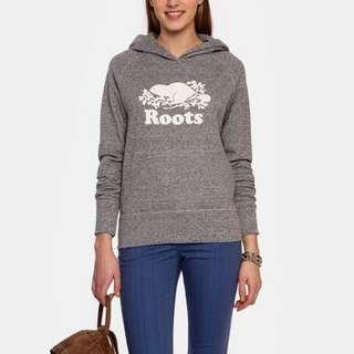 Roots Salt and Pepper Hoodie (Sz. S)