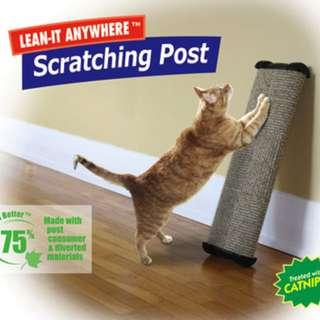 OMEGA PAW Lean-It Anywhere Cat Scratch Post Board