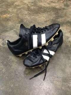 Vintage football shoes