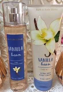 Bath & Body Works set (Fragrance Mist & Body Lotion)