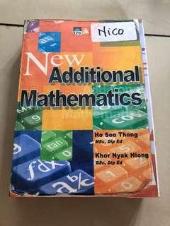 Additional mathematics IGCSE O LEVEL
