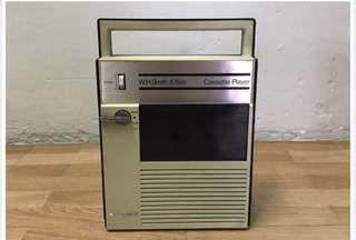 Antique Cassette Player