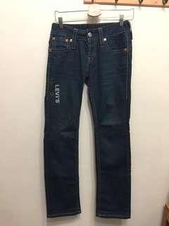 🚚 極新 LEVI'S 直筒牛仔褲 燙印logo