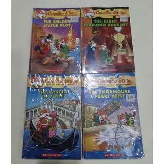 Geronimo Stilton books, other books