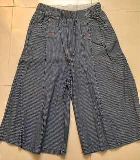 Denim Square Pants