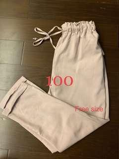 🚚 粉色鬆緊褲