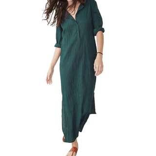 MAXI DRESS WITH LONG SLEEVE