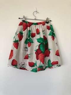 Vintage Strawberry Dress